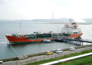 七尾湾の海上出荷設備のイメージ